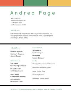 Andrea Page Designer