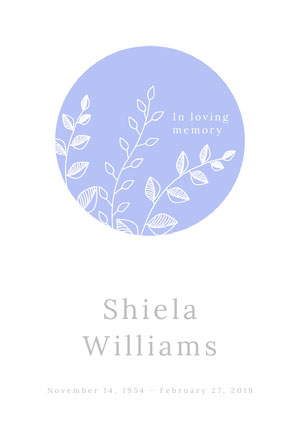 Shiela<BR>Williams Program