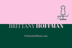 Pink and Green Fashion Designer Business Card Fashion