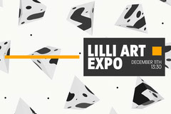 3D Pattern Lilli Art Expo Postcard Art Show