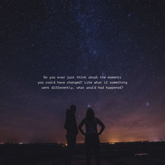 Night Mysterius Inspiration Quote Instagram Post Galaxy