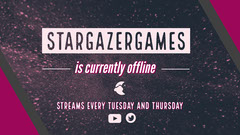 Starry Night Sky Gaming Streamer Twitch Banner Space
