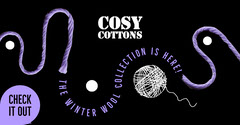 Purple Wool Collection Facebook Post New Collection