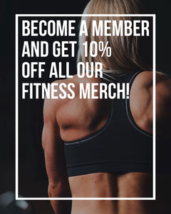 Dark Fitness Merch Sale Instagram Portrait Sports