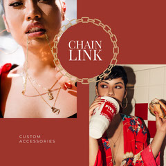 chain<BR>link Jewelry
