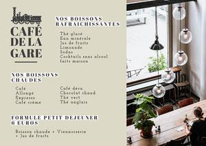 Green Station Café Manu A4 Menu