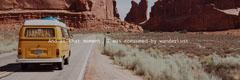 Sepia Toned Travel Quote Twitter Header  Desert