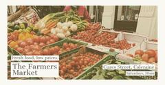 Farmers Market Facebook Post Fruit