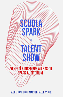 talent show school poster Volantino