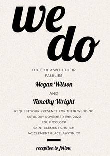 do Wedding Cards