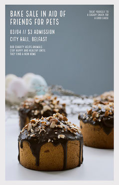 Bake Sale Poster Sale Flyer