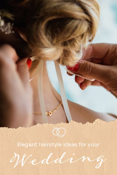 Wedding Hairstyle Tips Pinterest  Guide