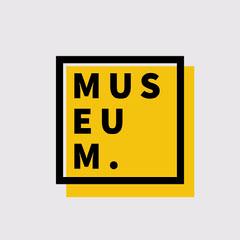 Black & Yellow Museum Logo Museum