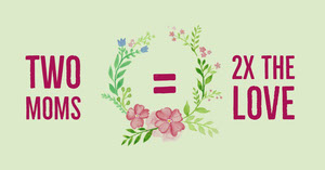 Pink and White Facebook Page Cover Mother's Day Messages