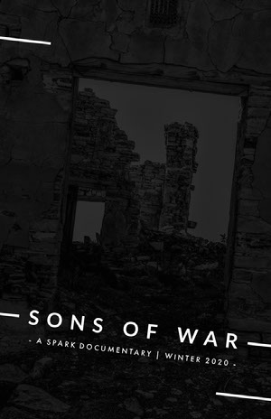 SONS OF WAR Poster film