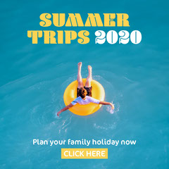 Summer Trips 2020 Instagram Square Summer