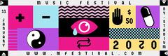 Colorful, Pop Art, Flashy, Music Festival Ad, Ticket Festival