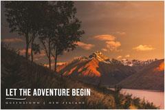 LET THE ADVENTURE BEGIN Adventure