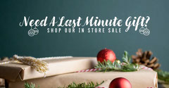 Need A Last Minute Gift Facebook Post Discount