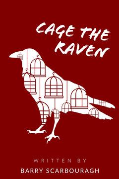 Raven Birdcage Book Cover  Bird