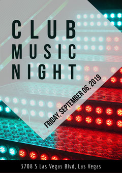 clubflyer Night Club Flyer