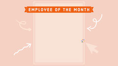 Employee of the Month Zoom Background Background