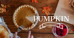 Light Toned Pumpkin Pie Competition Ad Facebook Banner Contest