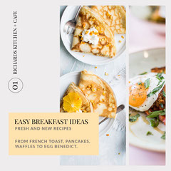 Bright Easy Breakfast Ideas Instagram Square Breakfast