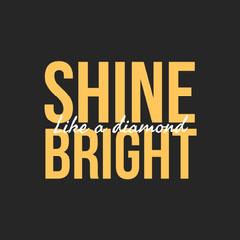 Yellow Shine Bright Animated Instagram Square Yellow