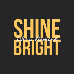 Yellow Shine Bright Animated Instagram Square