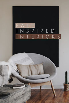 Interior Design Inspiration Pinterest Graphic with Chair Photo Interior Design