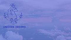 unicorn dreams zoom background  Sky