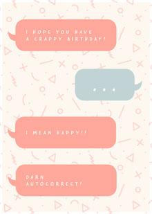 ... Birthday Card