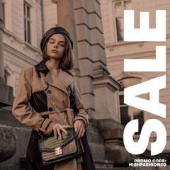 High fashion Instagram Square Discount
