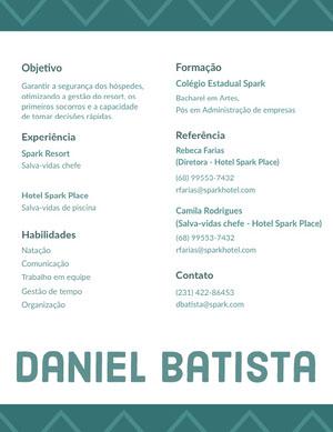 Daniel Batista  Currículo