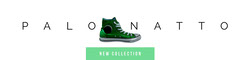 Green Minimalist Footwear and Fashion Etsy Profile Cover with Shoes Shoes