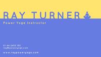 RAY TURNER 명함