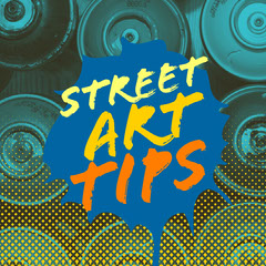 Colorful street art tips Instagram Square Art