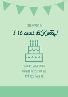 I 16 anni di Kelly! Invito