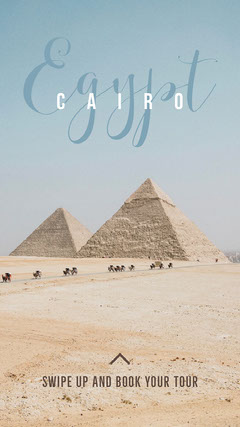Cairo Instagram Story Travel