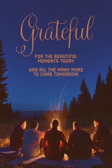 Grateful Good Night Messages