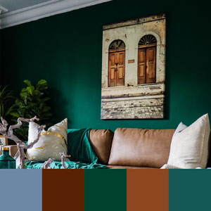 Color Palettes | Moody 2 101 Brilliant Color Combos
