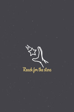 Navy Reach for the stars Pinterest Stars
