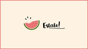 watermelon summer desktop wallpapers  Sfondo desktop