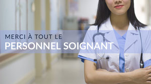 blue and white health organization twitter banner Taille d'image sur Twitter