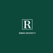 Green and White University Logo with Initial in Square Logo