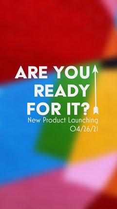 Multi-Colour Product Launch Line Instagram Story  Launch