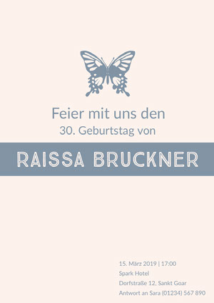 Raissa Bruckner  Einladung zur Party