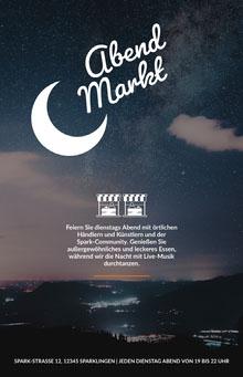 Markt Poster