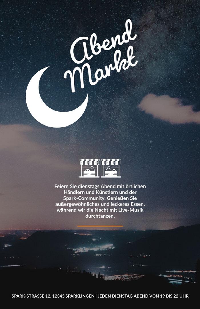 Markt Nachrichten zur guten Nacht